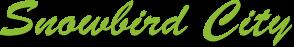 Snowbird City Logo